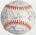 Baseball Collectibles:Balls, 2005 Chicago White Sox Team Signed Baseball (23 Signatures)....