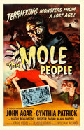 "Movie Posters:Science Fiction, The Mole People (Universal International, 1956). One Sheet (27"" X41"") Reynold Brown Artwork.. ..."