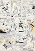 Original Comic Art:Panel Pages, Don Heck and Wally Wood Avengers #22 Story Page 9 OriginalArt (Marvel, 1965)....
