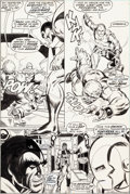 Original Comic Art:Panel Pages, Jim Starlin Iron Man #55 Story Page 17 Original Art (Marvel,1973)....
