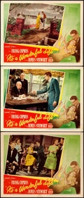 "Movie Posters:Fantasy, It's a Wonderful Life (RKO, 1946). Lobby Cards (3) (11"" X 14"").. ... (Total: 3 Items)"