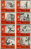 "Movie Posters:Sexploitation, Faster, Pussycat! Kill! Kill! (Eve Productions, 1965). Lobby CardSet of 8 (11"" X 14"").. ... (Total: 8 Items)"
