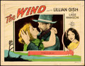 "Movie Posters:Drama, The Wind (MGM, 1928). Lobby Card (11"" X 14"").. ..."