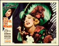 """The Devil is a Woman (Paramount, 1935). Lobby Card (11"""" X 14"""")"""