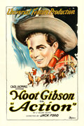 "Movie Posters:Western, Action (Universal, 1921). One Sheet (27"" X 41"").. ..."