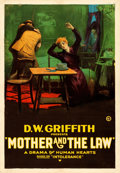 "Movie Posters:Drama, Intolerance (D.W. Griffith, 1919). AKA ""Mother and the Law.""One Sheet (27"" X 41"").. ..."