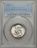 Washington Quarters, 1950 25C Doubled Die Reverse, FS-801, MS67+ PCGS....