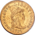 Early Eagles, 1795 $10 13 Leaves, BD-4, R.5, AU53 PCGS Secure....