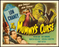 """Movie Posters:Horror, The Mummy's Curse (Universal, 1944). Title Lobby Card (11"""" X 14"""")....."""