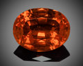 Gems:Faceted, Gemstone: Spessartite Garnet - 19.53 Ct.. Nigeria. ...