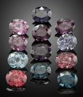 Gems:Faceted, Gemstone Parcel: Spinel - 9.88 TCW. Sri Lanka. ... (Total: 12 Items)