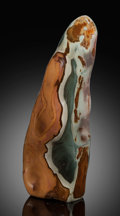 Lapidary Art:Carvings, Polychrome Jasper Free-Form. Madagascar. ...