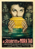 "Movie Posters:Horror, Zombies of Mora Tau (Columbia, 1957). Italian 4 - Fogli (54.75"" X77"") Anselmo Ballester Artwork.. ..."