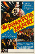 "Movie Posters:Serial, The Phantom Empire (Mascot, 1935). Stock One Sheet (27"" X 41"")....."