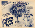 """Movie Posters:Western, The Terror of Tiny Town (Columbia, 1937). Half Sheet (22"""" X 28"""").. ..."""