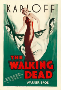 """The Walking Dead (Warner Brothers, R-1942). One Sheet (27"""" X 41"""")"""