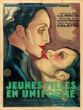 "Movie Posters:Foreign, Mädchen in Uniform (GFFA, 1931). French Grande (47"" X 63"") Carlo Mariani Artwork.. ..."