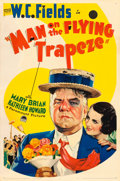 "Movie Posters:Comedy, Man on the Flying Trapeze (Paramount, 1935). One Sheet (27"" X41"").. ..."