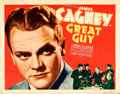 "Movie Posters:Drama, Great Guy (Grand National, 1936). Half Sheet (22"" X 28"").. ..."