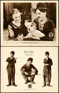 """Movie Posters:Comedy, A Dog's Life (First National, 1918). Lobby Cards (2) (11"""" X 14"""")..... (Total: 2 Items)"""