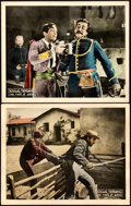 "Movie Posters:Swashbuckler, The Mark of Zorro (United Artists, 1920). Lobby Cards (2) (11"" X 14"").. ... (Total: 2 Items)"