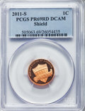 Proof Sets, Nine-Piece Assorted Date Proof Set PCGS. This set also includes the following coins: 2011-S 1C PR69 Red Deep Cameo; 2005-... (Total: 9 coins)