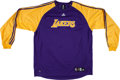 Basketball Collectibles:Uniforms, 2000's Kobe Bryant Game Worn Los Angeles Lakers Shooting Shirt. ...