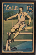 "Miscellaneous Collectibles:General, 1907 Yale ""Track Runner"" Print. ..."