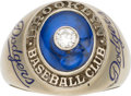 Baseball Collectibles:Others, 1947 Brooklyn Dodgers National League Championship Ring Presentedto Hap Minor....
