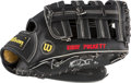Baseball Collectibles:Others, Circa 1991 Kirby Puckett Game Used, Signed Fielder's Glove. ...