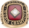 Baseball Collectibles:Others, 1982 Whitey Ford World Series Salesman's Sample Ring. ...