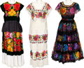 Music Memorabilia:Costumes, Linda Ronstadt -- A Collection of Stage-Worn Folklorico Dresses (1980s-1990s).... (Total: 3 )