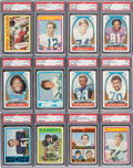 Football Cards:Sets, 1972 Topps Football Complete Set (351). ...
