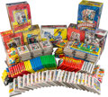 Baseball Cards:Unopened Packs/Display Boxes, 1970's-1980's Topps, Fleer Unopened Wax Box and Wax PacksCollection (100+). ...