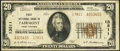 National Bank Notes:West Virginia, Fairmont, WV - $20 1929 Ty. 2 First NB Ch. # 13811. ...