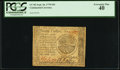 Colonial Notes:Continental Congress Issues, Continental Currency September 26, 1778 $20 PCGS Extremely Fine40.. ...