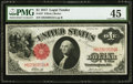 Fr. 37 $1 1917 Legal Tender PMG Choice Extremely Fine 45