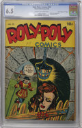 "Golden Age (1938-1955):Superhero, Roly Poly Comic Book #14 Davis Crippen (""D"" Copy) pedigree (Green Publishing Co., 1946) CGC FN+ 6.5 Cream to off-white pages...."