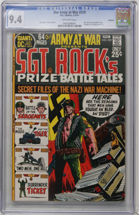 Our Army at War #229 Oakland pedigree (DC, 1971) CGC NM 9.4 Off-white pages