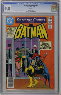 Detective Comics #497 (DC, 1980) CGC NM/MT 9.8 White pages