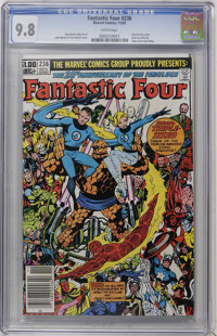 Fantastic Four #236 (Marvel, 1981) CGC NM/MT 9.8 White pages