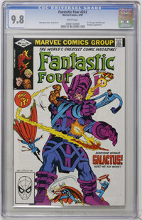 Fantastic Four #243 (Marvel, 1982) CGC NM/MT 9.8 White pages