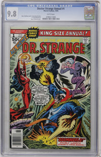 Doctor Strange Annual #1 (Marvel, 1976) CGC NM/MT 9.8 White pages