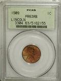 Proof Lincoln Cents, 1909 1C PR63 Red and Brown PCGS....