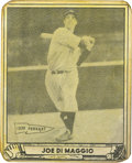 """Baseball Cards:Singles (1940-1949), 1940 Play Ball Baseball Joe DiMaggio #1. The """"Yankee Clipper"""" JoeDiMaggio remains one of the most popular of all past New Y..."""