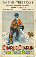 "Movie Posters:Comedy, The Gold Rush (United Artists, 1925). Window Card (14"" X 22"")...."