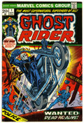 Bronze Age (1970-1979):Horror, Ghost Rider #1 (Marvel, 1973) Condition: VG/FN....