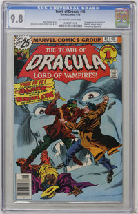 Tomb of Dracula #45 (Marvel, 1976) CGC NM/MT 9.8 Off-white to white pages