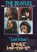 """Movie Posters:Rock and Roll, Let It Be (United Artists, 1970). Japanese B2 (20"""" X 29"""")...."""