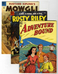 Golden Age (1938-1955):Miscellaneous, Four Color Group (Dell, 1949-62) Condition: Average VF.... (Total: 7 Comic Books)